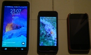 My phones - IPhones to Galaxy Note 4